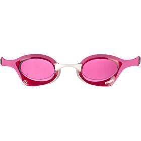 arena Cobra Ultra Swipe Goggles pink/pink/white